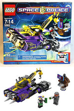 New - SPACE POLICE - SMASH 'N GRAB - Lego 5982 SHIP & SQUIDTRON - Sealed Box!