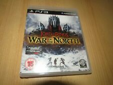 PS3 THE LORD OF THE RINGS WAR IN THE NORTH mint collectors