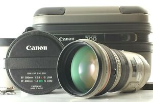 【 Excellent+5  w/ Case 】Canon EF300mm f/ 2.8 L IS USM Telephoto Lens from JAPAN