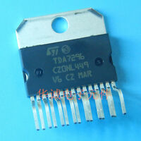 10PCS TDA7296 Encapsulation:ZIP-15,70V - 60W DMOS AUDIO AMPLIFIER WITH