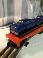 Lionel #6-16933 O Gauge Lionel Lines Flat Car with Two Automobiles