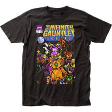 Thanos The Infinity Gauntlet Adult Fitted Jersey T-shirt Tee Medium