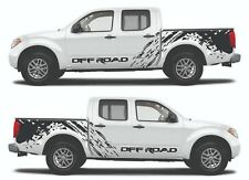 Adhesive sticker Nissan Frontier  compatible