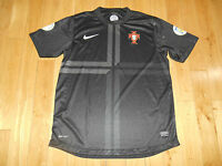 Rare NIKE AUTHENTIC PORTUGAL Soccer 2014 FIFA World Cup Jersey Mens XL Third Kit