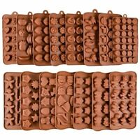 Silicone Mould Jelly and Candy 3D Chocolate Cake Mold DIY Non-stick Baking Tools