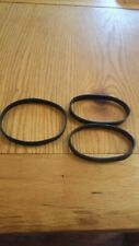Three Drive Belts for Dyson DC07 Vacuum Cleaner.
