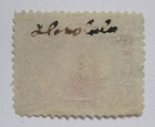 Hawaii #38 Excellent Centering with Very Unusual Honolulu Manuscript on Reverse