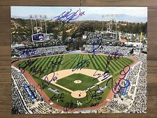 2017 LOS ANGELES DODGERS team signed 11x14 photo ~ 15 signatures!