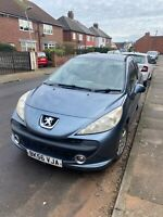 Peugeot 207 CC 1.4 sports 2006 STARTS+DRIVES SPARES OR REPAIRS