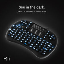 Rii i8+ Mini Wireless Backlight Keyboard w/ Mouse PC Smart TV Android TV Box PS4