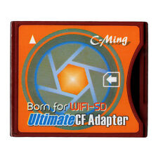 C-Ming ULtimate CF Adapter SDXC To type|| CF Card Support WIFI SD/SDHC Card