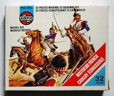 Airfix 01736-5, Waterloo French Cavalry, 32 Teile Komplett, White Box, 1975.