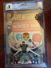 Avengers #9 CGC .5  1st Appearance Wonderman 🔥🔥🔥