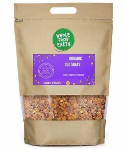 Organic Sultanas   Vegan   GMO Free   Sundried