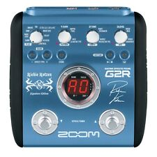 ZOOM G2R RICHIE KOTZEN SIGNATURE GUITAR EFFECTS PEDAL PROCESSOR & POWER SUPPLY