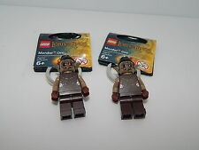 Lego Minifigure Lot Of 2 Lord Of The Rings Mordor Orc Key Chain