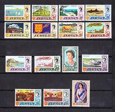 JERSEY   timbre  Elisabeth  II   et divers   1969  num:  5/19   **
