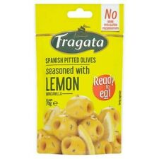 Fragata Snack 'N Green Olives With Pinch Of Lemon 70G X 2