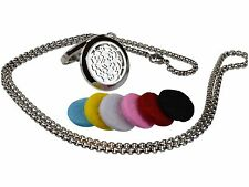 Cross 316L Surgical Stainless Steel Aromatherapy Essential Oil Diffuser Locket