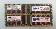 Tested ProMOS 2GB(2x1GB) V826765K24SAIW-D3 DDR 400MHz PC-3200 Memory