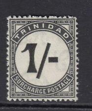 TRINIDAD SGD25 1945 1/- BLACK POSTAGE DUE - Unmounted mint