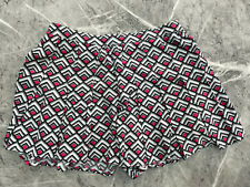 Hollister cotton shorts/skort, white/black/pink, Medium