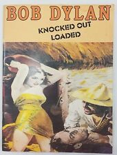 Bob Dylan Knocked Out Loaded 1986 Songbook Guitar Lyrics Sheet Music