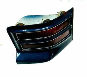 1974-1975 Pontiac Tempest Grand Prix Sedan RH Tail Light Dark Blue Trim OEM Used