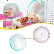 Lovely Hamster Mouse Rat Exercise Plastic Silent Running Spinner Wheel Pet Toy