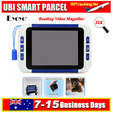 "3.5"" LCD 32x Portable Electronic TV Digital Magnifier Reading Aid for Low Vision"