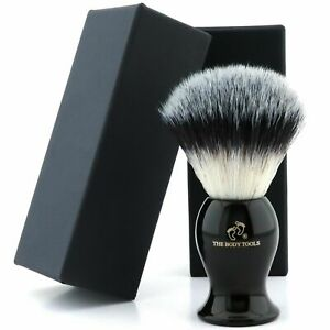 High Quality Synthetic Hair Shaving Brush for Perfect Shave / Best Gift for Mens