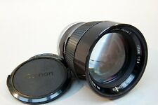 Vivitar Series 1 135mm f2.3 Telephoto Lens for Canon A-1, AE-1, F1 SLR Cameras
