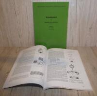 Werkstatthandbuch Deutz Motor 712 Traktor D30 F2L712