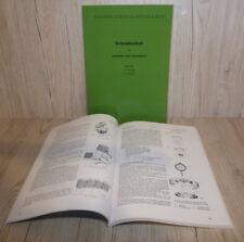 Werkstatthandbuch Deutz Motor 712 Traktor D25S  F2L712
