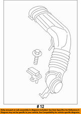 FORD OEM 2013 Escape Air Cleaner Intake-Inlet Duct Hose Tube CV6Z9B659C