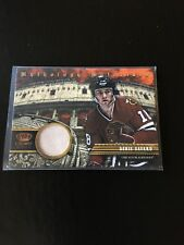 Denis Savard Chicago Blackhawks 2013-14 Panini Crown Royale Mythology Materials