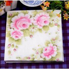 Food Grade Table Napkins Paper Tissue Handerchief Decoupage Wedding Party Cafe
