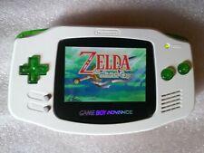 Nintendo Game Boy Advance Custom IPS V2 Bianco Stupendo! Gba sp