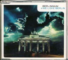 Berlinnium-We Love Berlin 4 TRK CD MAXI 1999