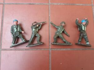 LONE STAR Toy Soldiers Harvey Series Army Lot of 4