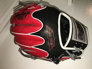 """NEW Rawlings PRO204W-2CA CANADA WING TIP Heart of the Hide Baseball Glove 11.5"""""""
