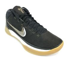 check out bd21a 8a0b0 Nike Mens Kobe AD Black Metallic Gold Anthracite Basketball Sneakers Gum  922482