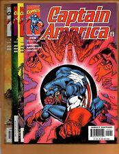Captain America 29 30 31 & 32 Spider-Man Kazar Avengers Nm
