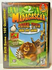 Madagascar Animal Trivia Mini DVD Game New Sealed Dreamworks 2005