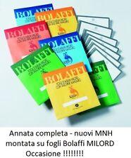 Repubblica - 1979/1985 - Annate complete nuove - MNH montate su fogli Bolaffi
