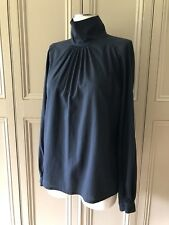 Stylish Nearly Black Cotton Shirt By DRIES VAN NOTEN