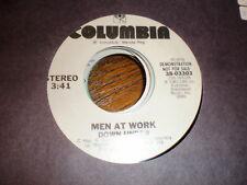 Men At Work 45 Down Under COLUMBIA PROMO