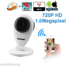 Sricam SP009 720P H.264 Wifi 1.0 MP Wireless CCTV Security IP Camera TF Slot