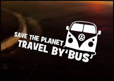 2x Grand VW One Life Surf Il fenêtre largeur 300 mm Transporter T5 Bus Caddy Autocollant