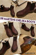 Dr Martens Chelsea boots Purple Size 8 RARE Worn Twice Leonore MINT